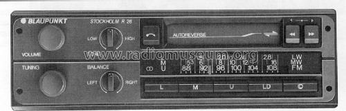 Stockholm R 26 7.646.541.510; Blaupunkt Ideal, (ID = 652906) Car Radio
