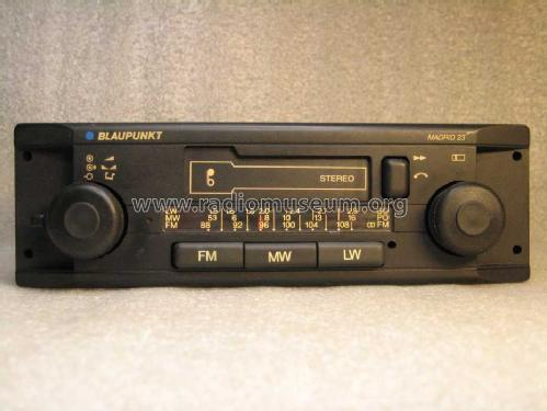 Madrid 23 7.642.541.412; Blaupunkt Ideal, (ID = 431328) Car Radio