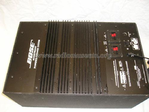 acoustimass powered system 2683 2 speaker p bose corporation rh radiomuseum org bose 2683 subwoofer manual bose 2683-2 manual