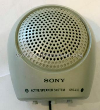 Active Speaker System SRS-A5S; Sony Corporation; (ID = 2326939) Lautspr.-K