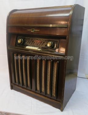 Musiktruhe 555UKW MT Ch= Ph555UK; Braun; Frankfurt (ID = 1975326) Radio