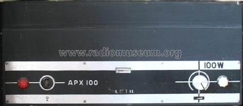 Power Amplifier APX-100; Budapesti (ID = 470769) Ampl/Mixer