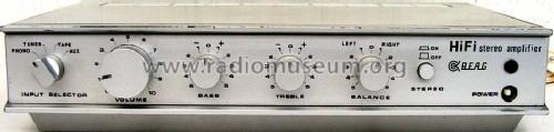 Stereo Amplifier AET 215; Budapesti (ID = 1111006) Ampl/Mixer