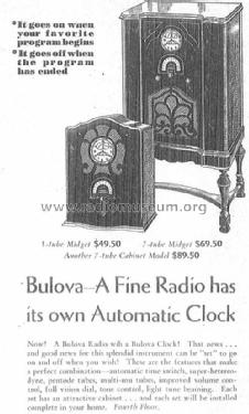 C751; Bulova Watch Corp.; (ID = 1949985) Radio