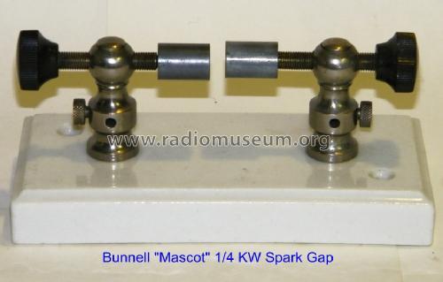 Mascot Spark Gap List No  7751 Amateur-D Bunnell & Co , J H