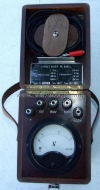 Voltmeter MJ-I96V; Camille Bauer, (ID = 1245460) Equipment