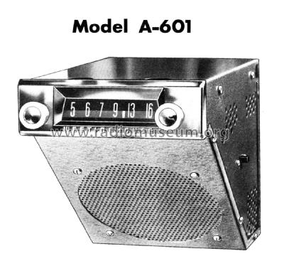 A601 ; Canadian (ID = 2206270) Car Radio