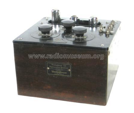 Canadian: Regenerative Receiver Model 53 Radio ID.