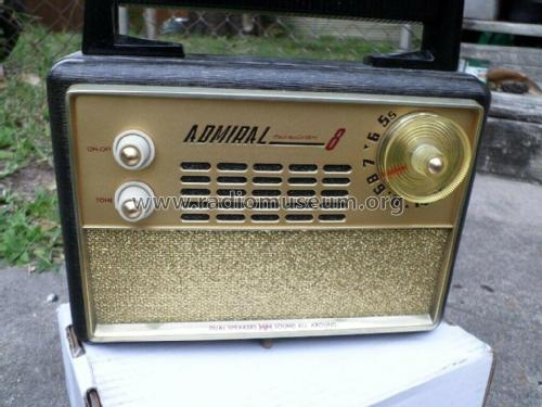 Transistor 8 Dual Speakers Sound All Around 531X ; Canadian Admiral Co. (ID = 2485076) Radio