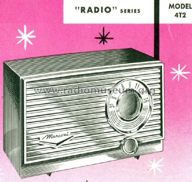 4T2 ; Canadian Marconi Co. (ID = 1529888) Radio