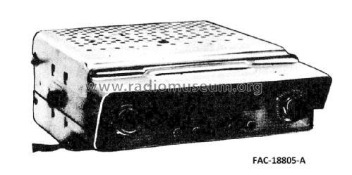 FAC-18805-A ; Canadian Marconi Co. (ID = 2321964) Car Radio