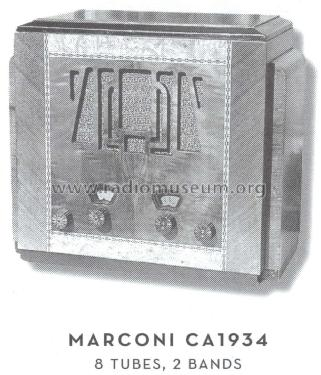 Unknown Table Radio ; Canadian Marconi Co. (ID = 1578260) Radio