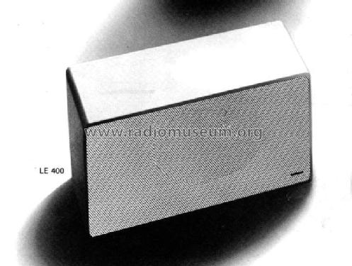 LE400; Canton, Weilrod (ID = 563616) Speaker-P