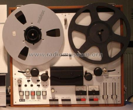 Professional Tape Recorder R73; Carad; Kuurne (ID = 1128152) R-Player