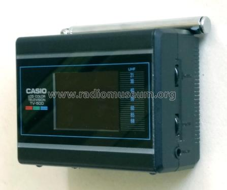 Color LCD Television TV-500 V; CASIO Computer Co., (ID = 2449107) Television