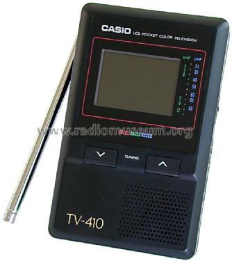 LCD Pocket Color Television TV-410 V; CASIO Computer Co., (ID = 774454) Television