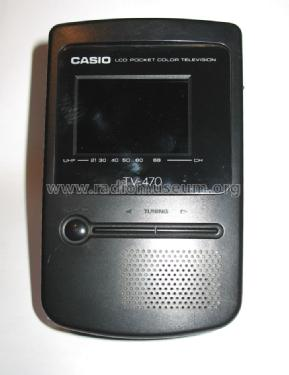 LCD Pocket Color Television TV-470D; CASIO Computer Co., (ID = 1074822) Television