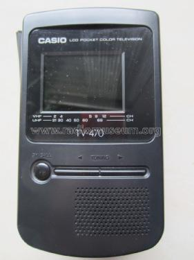 LCD Pocket Color Television TV-470N; CASIO Computer Co., (ID = 1816725) Television