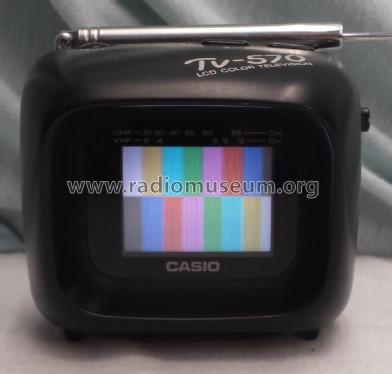 LCD Pocket Color Television TV-570; CASIO Computer Co., (ID = 2234978) Television