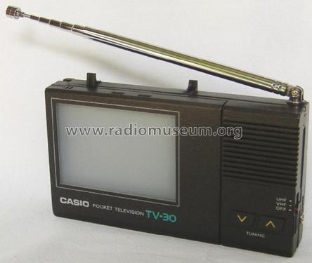 Pocket Television TV-30; CASIO Computer Co., (ID = 1695191) Television