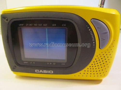 Portable LCD Color Television JY-10D; CASIO Computer Co., (ID = 1741552) Television