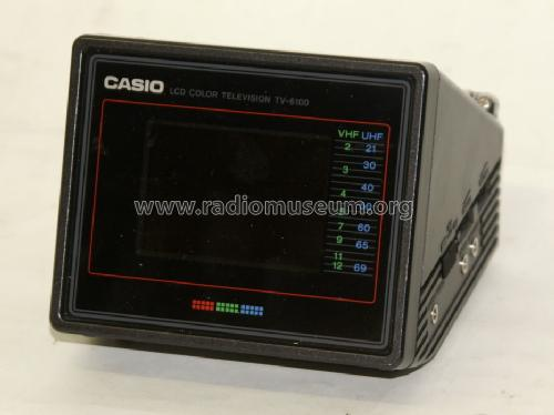 LCD Pocket Color Television TV-6100; CASIO Computer Co., (ID = 766099) Television