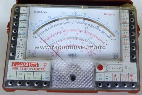 Multimeter Novotest 2 TS161; Cassinelli, S.a.s., (ID = 1450128) Equipment