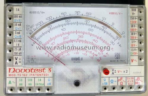 Multimeter Novotest 3 TS162; Cassinelli, S.a.s., (ID = 1450141) Equipment