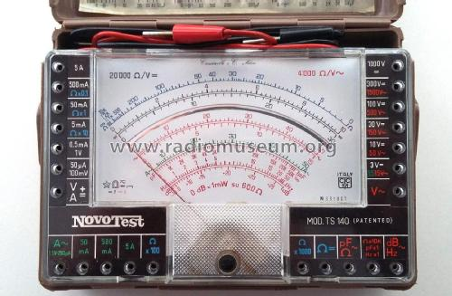 Novotest - Tester universale/Comprobador universal/Multimeter TS140; Cassinelli, S.a.s., (ID = 2115531) Equipment