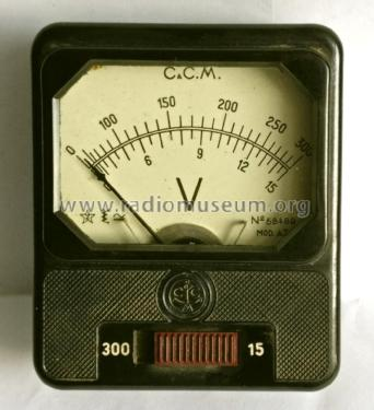 Pocket Voltmeter A.T.4; Cassinelli, S.a.s., (ID = 2576781) Equipment