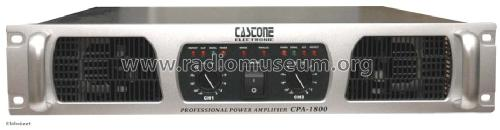 Power Amplifier CPA-1800; Castone Electronic (ID = 1696237) Ampl/Mixer