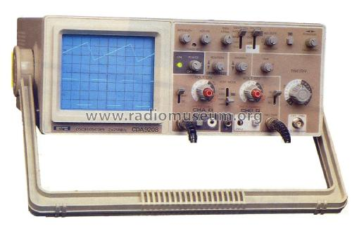 Oscilloscope CDA-9208; CDA; Paris (ID = 1822943) Equipment