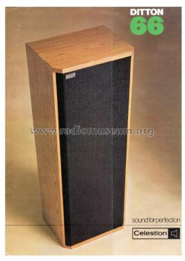 Three Way Loudspeaker System Ditton 66; Celestion Radio also (ID = 2084378) Speaker-P