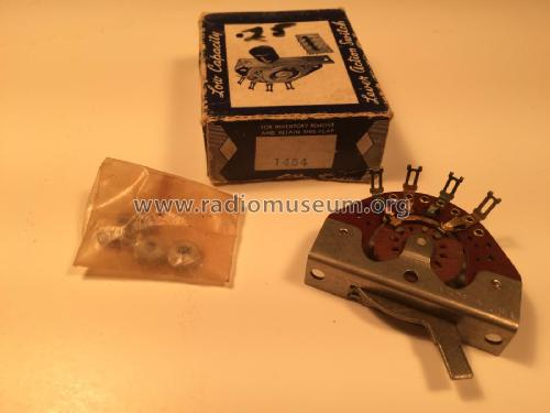 Lever Action Switch 1454; Central Radio (ID = 2187504) Radio part