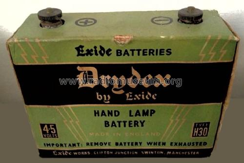 Hand Lamp Battery Drydex H30; Chloride Electrical (ID = 1534124) Power-S