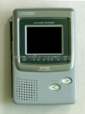 LCD Color Television ST755-IH; Citizen Electronics (ID = 2449095) Television