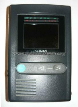 LCD Pocket Color TV P422-1H; Citizen Electronics (ID = 1434912) Television