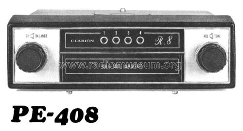 Solide State Car Stereo PE-408; Clarion Co., Ltd.; (ID = 1999671) R-Player
