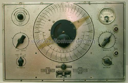 Standard Signal Generator Calibrated 199B; Clough-Brengle Co., (ID = 1080611) Equipment