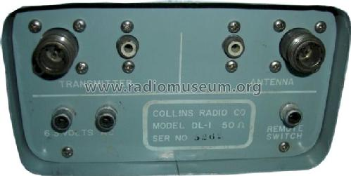Dummy Load DL-1; Collins Radio (ID = 408722) Amateur-D