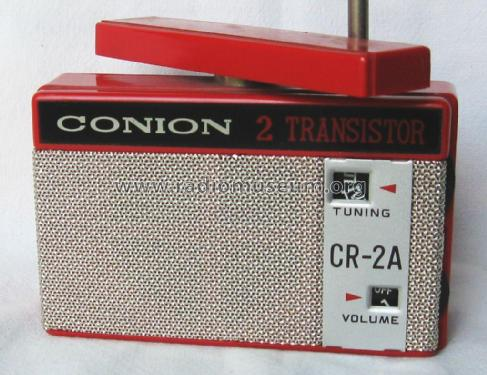 Conion 2 Transistor Boy's Radio CR-2A; Coney Onkyo Co. Ltd. (ID = 2481915) Radio