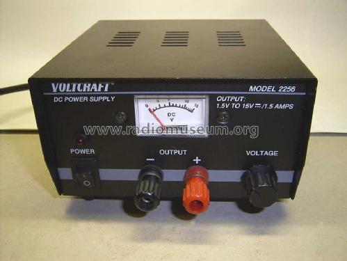 Voltcraft DC Power Supply 1,5 to 15V 2256; Conrad Electronic (ID = 1874588) Power-S