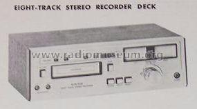Eight-Track Stereo Recorder Deck H261; Craig Panorama Inc.; (ID = 515623) R-Player