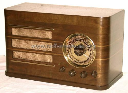 817 Super 8 ; Crosley Radio Corp.; (ID = 55426) Radio