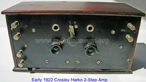 Two-Step Amplifier or 2-stage Audio Amp. ; Crosley Radio Corp.; (ID = 820539) Ampl/Mixer