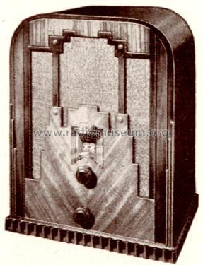 New Fiver tombstone Radio Crosley Radio Corp.; Cincinnati OH