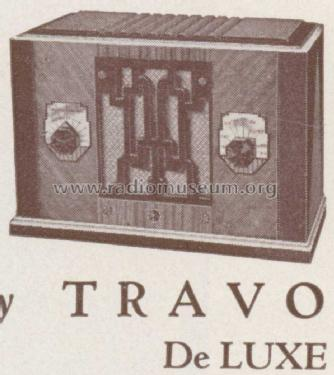 travo deluxe ch 166 radio crosley radio corp cincinnati oh. Black Bedroom Furniture Sets. Home Design Ideas