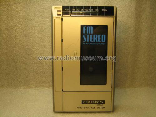 Radio Cassette Player CH-20DC; Crown Radio Corp.; (ID = 938317) Radio