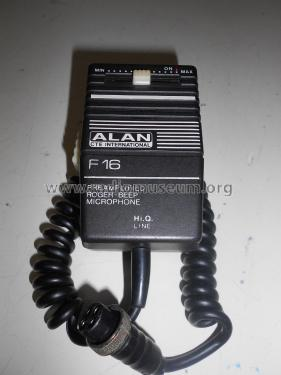 Alan Preamplified Roger-Beep Microphone F 16; CTE international S. (ID = 2397239) Mikrofon/TA