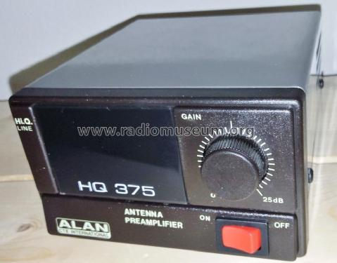 Antenna Preamplifier HQ 375; CTE international S. (ID = 2027653) CB-Funk